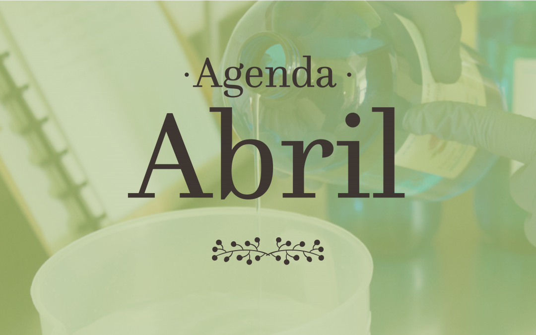 Abril, Mercados e Workshops!