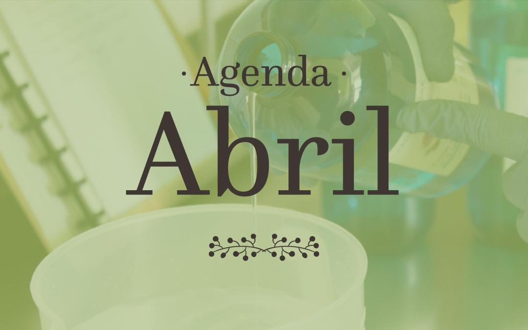 Abril, Mercados e Workshops!
