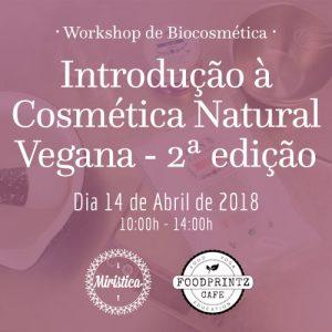 Workshop de Introdução à Cosmética Natural Vegana - 2ª Edição