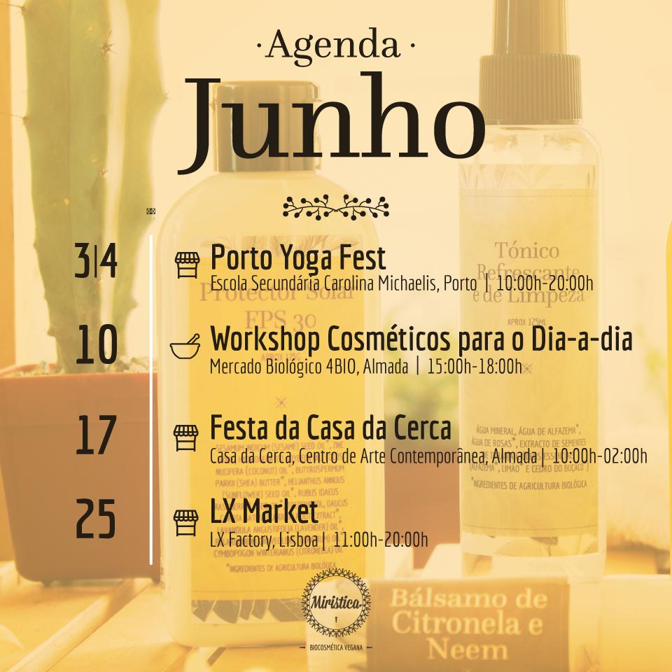 Agenda de Junho