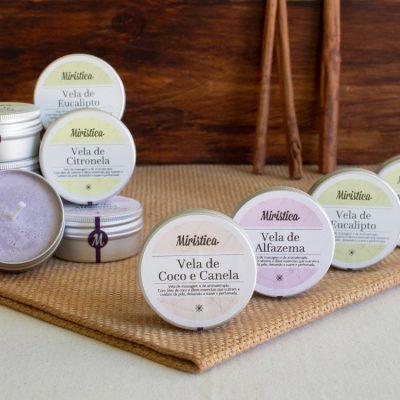 Velas de Massagem e Aromaterapia