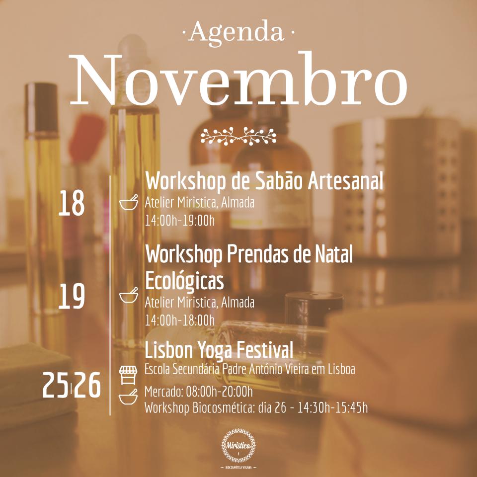 Agenda Miristica de Novembro