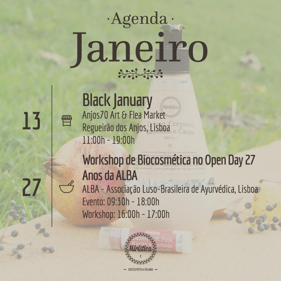 Agenda Miristica de Janeiro