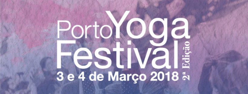 Cartaz Porto Yoga Festival 2018