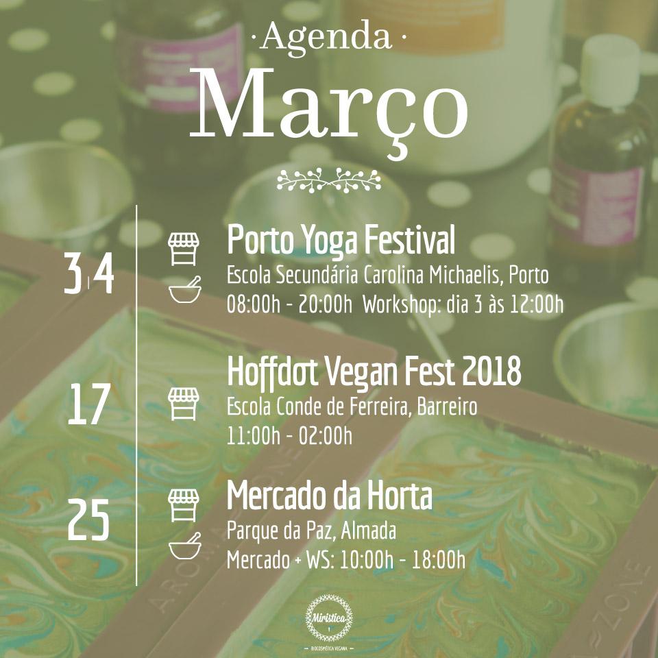 Agenda Miristica de Março