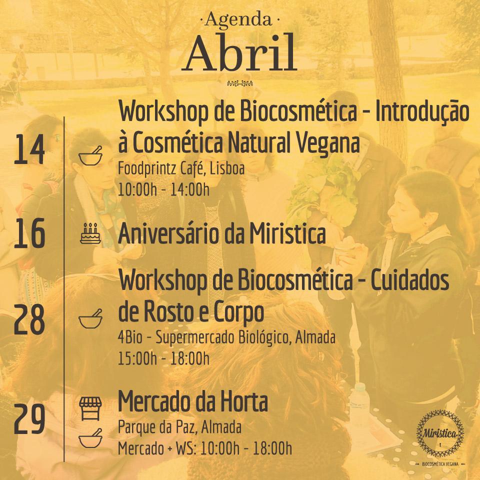Agenda Miristica de Abril