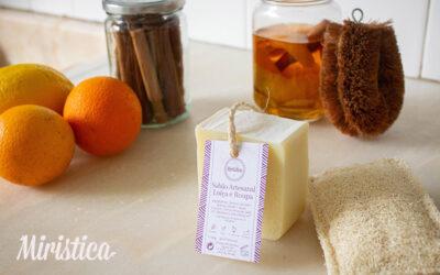 Limpeza do lar ecológica e sustentável + Receita de Detergente