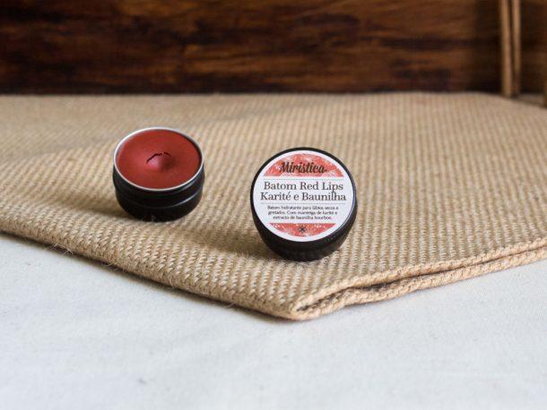 Batom de Karité e Baunilha Red Lips