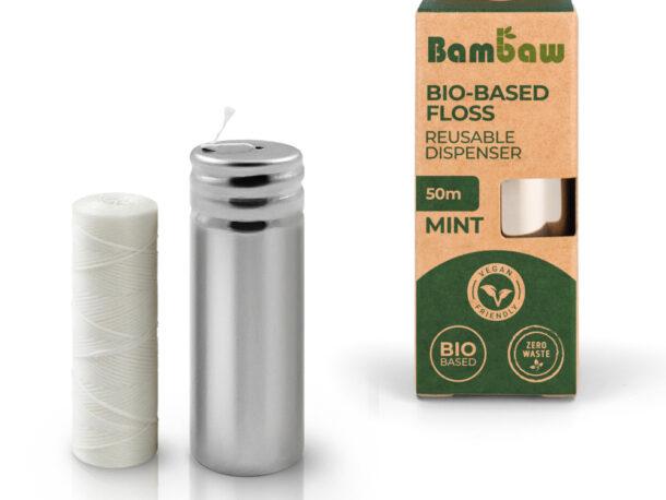 Fio dentário de Bambu