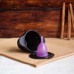 Copo Menstrual e Esterilizador Ruby Cup