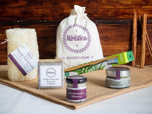 Kit de Produtos de Higiene Zero Waste
