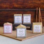 Sabão artesanal hidratante para diversos tipos de pele e cabelo.