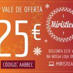 Vale de Oferta no valor de 25€