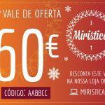 Vale de Oferta no valor de 60€