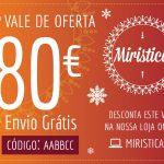 Vale de Oferta no valor de 80€